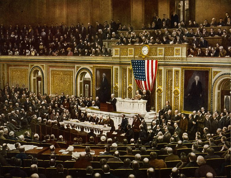 780px woodrow wilson war declaration speech 2 april 1917