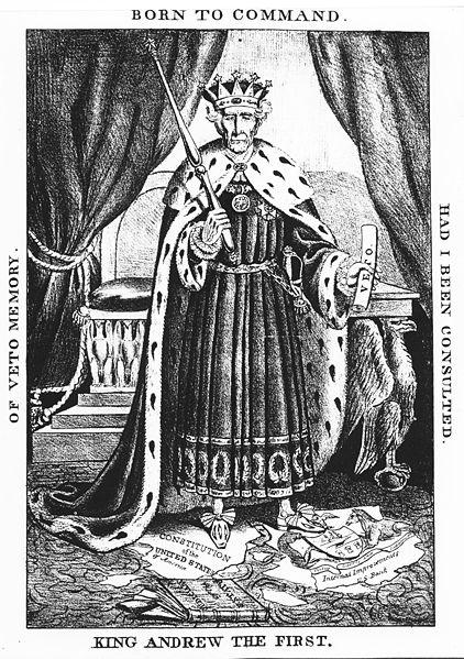 Andrew jackson king andrew