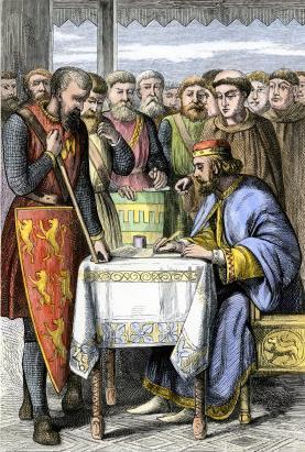 Magna carta king john