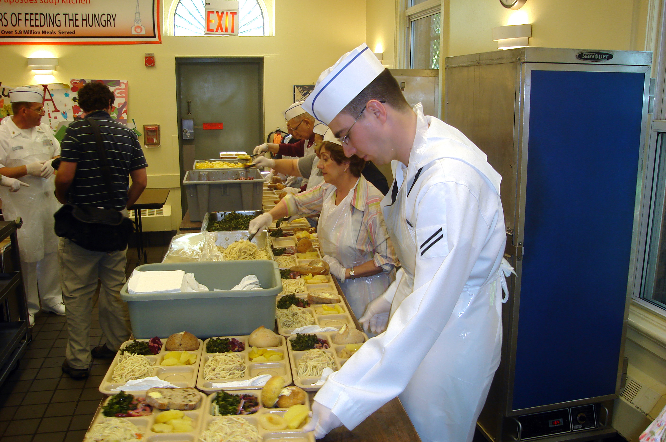 Soup kitchen  us navy  2