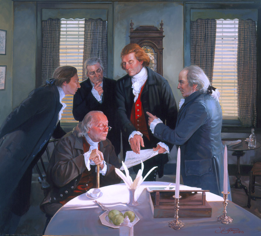 founding fathers i - The Declaration Of