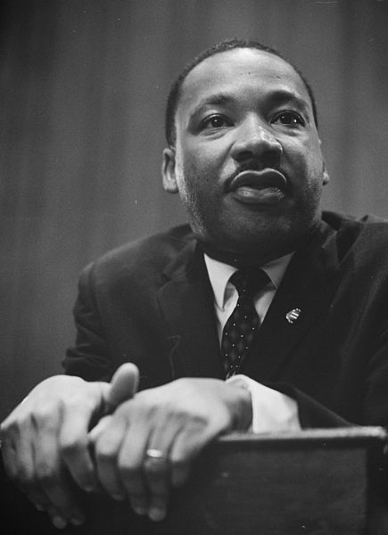 435px martin luther king 1964 leaning on a lectern