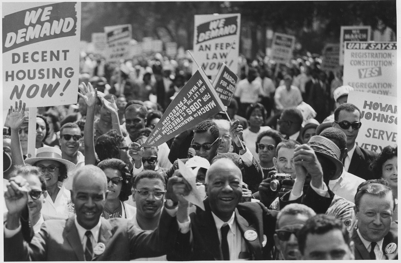 Civil rights march  3
